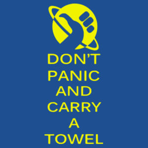 Keep calm and carry a towel - Softstyle™ women's ringspun t-shirt Design