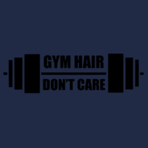 Gym Hair , Dont Care - Softstyle™ women's tank top Design