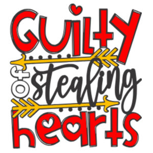 Guilty of Stealing Hearts - Rectangle Smooth Edge Keyring Design