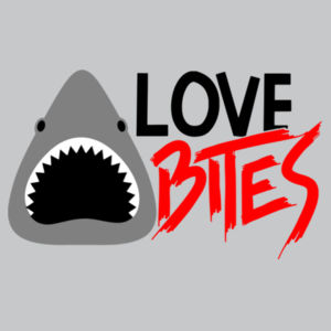 Love Bites  - Softstyle™ women's long sleeve t-shirt Design