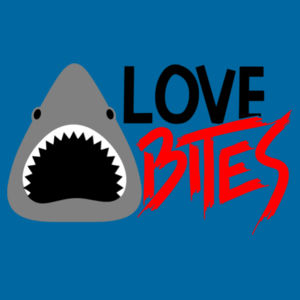 Love Bites  - Softstyle™ adult ringspun t-shirt Design
