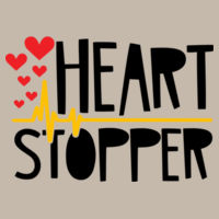 Heart Stopper - Softstyle™ women's ringspun t-shirt Design