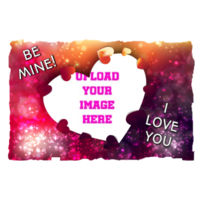 Valentines I love you - Large Rectangle Photo Slate Design