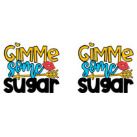 Gimme some sugar - Mug - Ceramic 11oz Design