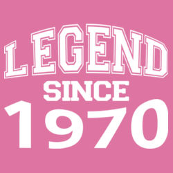 Customisable - Legend Since  - Softstyle™ women's ringspun t-shirt Design