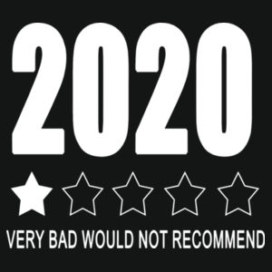2020 Very Bad Would not Recommend - Varsity Hoodie Design