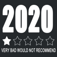 2020 Very Bad Would not Recommend - Softstyle™ adult ringspun t-shirt Design