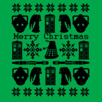 Doctor Who Christmas Jumper - Heavy blend™ adult crew neck sweatshirt Design