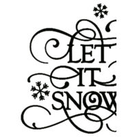Let It Snow - Heavy blend™ adult crew neck sweatshirt Design