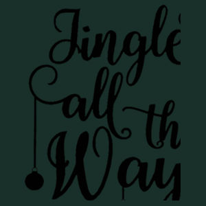 Jingle all the way - Heavy blend™ adult crew neck sweatshirt Design
