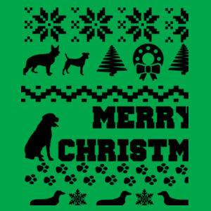 Doggy Christmas - Heavy blend™ adult crew neck sweatshirt Design