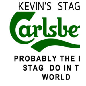 Carlsberg Customisable Stag T-shirt - Softstyle™ adult ringspun t-shirt Design