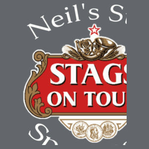 Stag's on Tour Customisable  - Softstyle™ adult ringspun t-shirt Design