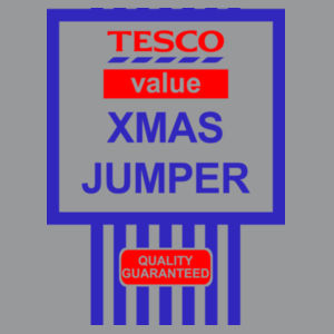 Tesco Xmas Jumper - Heavy Blend™ youth crew neck sweatshirt Design