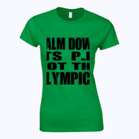 Calm Down Its PE Not The Olympics - Softstyle™ women's ringspun t-shirt Thumbnail