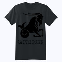 Capricorn in silver - Softstyle™ youth ringspun t-shirt Thumbnail