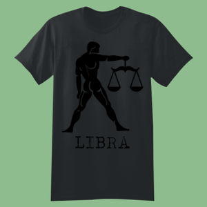 Libra in Silver - Softstyle™ youth ringspun t-shirt Thumbnail