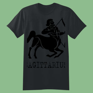 Sagittarius in silver - Softstyle™ youth ringspun t-shirt Thumbnail