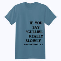 Gullible - Softstyle™ youth ringspun t-shirt Thumbnail