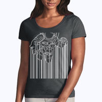 Astrocode - Softstyle® women's deep scoop t-shirt Thumbnail