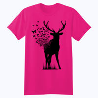 Butterfly Deer - Softstyle™ youth ringspun t-shirt Thumbnail