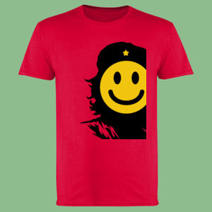 Che Smiles - Softstyle™ adult ringspun t-shirt Thumbnail