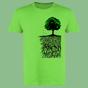 Know Your Roots - Softstyle™ adult ringspun t-shirt Thumbnail