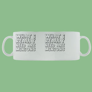I Need Minions - Mug - Ceramic 11oz 2 Thumbnail