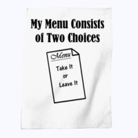 Menu - Tea towel Thumbnail