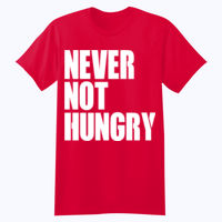 Never Not Hungry - Softstyle™ youth ringspun t-shirt Thumbnail