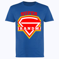 Super Grandma - Softstyle™ adult ringspun t-shirt Thumbnail