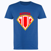 Super Mom - Softstyle™ adult ringspun t-shirt Thumbnail