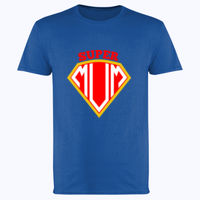 Super Mum - Softstyle™ adult ringspun t-shirt Thumbnail