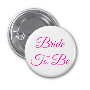Bride To Be - 38mm Badge Thumbnail