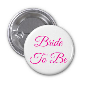 Bride To Be - 77mm Badge Thumbnail