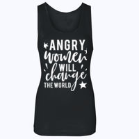 Angry Women - Softstyle™ women's tank top Thumbnail