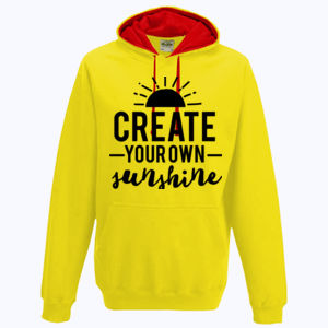 Create Your Own Sunshine - Varsity Hoodie Thumbnail