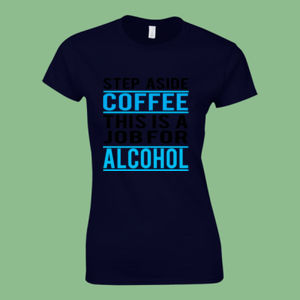 Step Aside - Softstyle™ adult ringspun t-shirt - Softstyle™ women's ringspun t-shirt Thumbnail