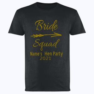 Bride Squad - Softstyle™ adult ringspun t-shirt Thumbnail