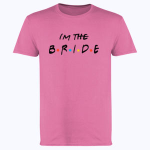 Friends Style - I'm The Bride - Softstyle™ adult ringspun t-shirt Thumbnail