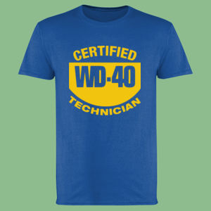 Certified WD40 Technician - Softstyle™ adult ringspun t-shirt Thumbnail