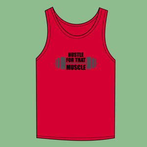 Hustle for that Muscle - Softstyle™ adult tank top Thumbnail