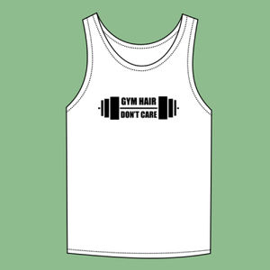 Gym Hair , Dont Care - Softstyle™ adult tank top Thumbnail