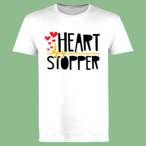Heart Stopper - Softstyle™ adult ringspun t-shirt Thumbnail