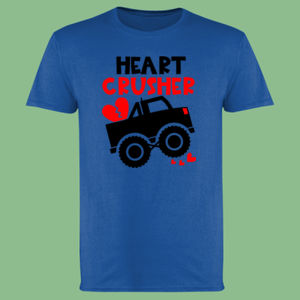 Heart Crusher - Softstyle™ adult ringspun t-shirt Thumbnail