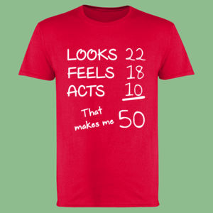 Looks Feels Acts Customisable - Softstyle™ adult ringspun t-shirt Thumbnail