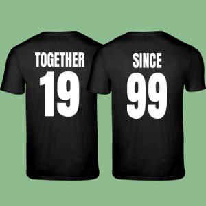 Together Since - Matching T-shirts Softstyle  Thumbnail