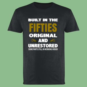 Built in the - Customisable - Softstyle™ adult ringspun t-shirt Thumbnail