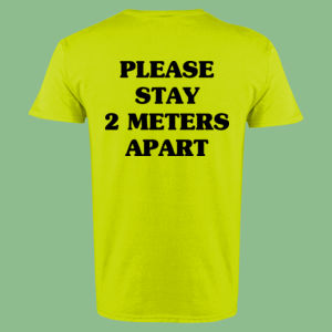 Please Stay 2 Meters Apart - Ultra Cotton™ Adult T-shirt Thumbnail