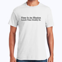 Time is an illusion - Heavy Cotton 100% Cotton T Shirt Thumbnail